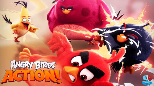 Rovio Soft Launches Angry Birds ACTION- Review+Download