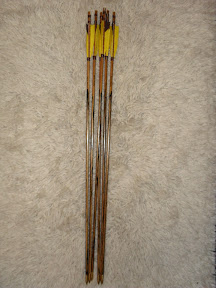 special colored laminated arrows