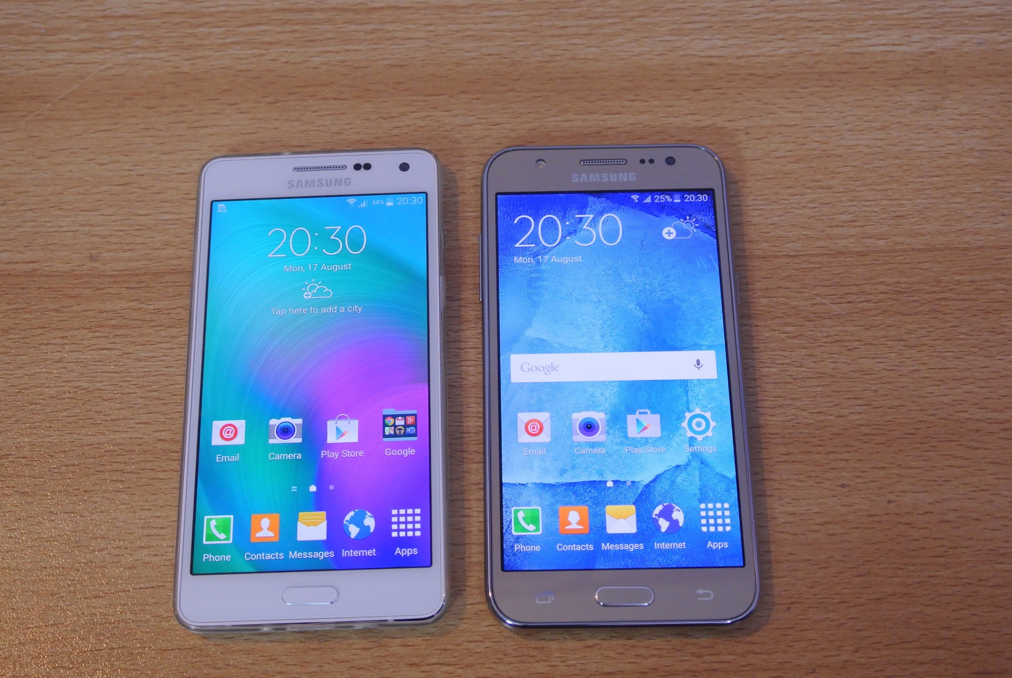 Download video: Samsung Galaxy J5 VS A5 VS S6 VS Grand Prime ...