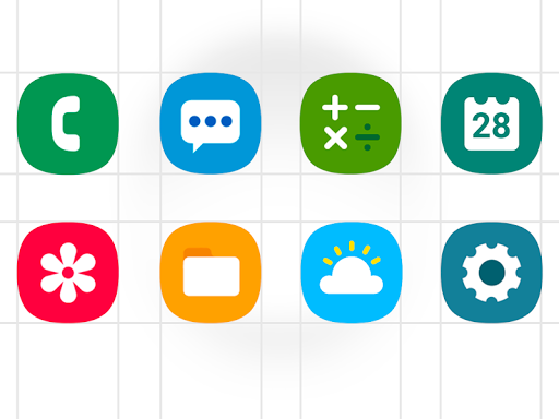 One UI - icon pack 1.0.7 Screenshots 1