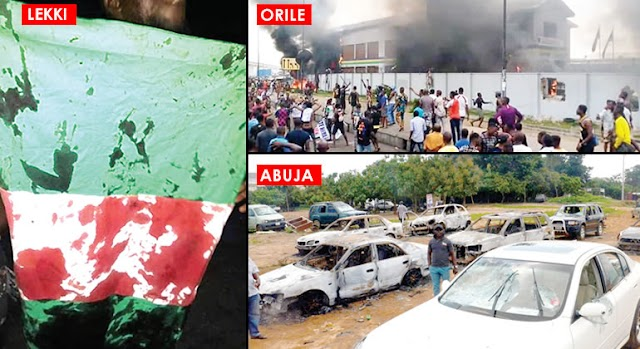 #EndSARS: Black Tuesday: 49 killed as protests turn bloody