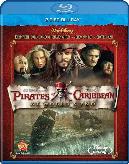 Piratas del Caribe: En el Fin del Mundo [BD25]