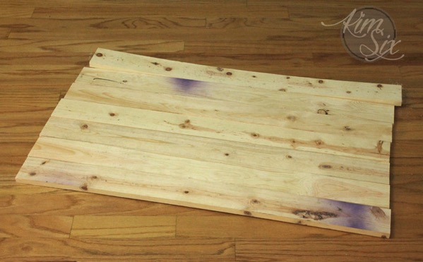 Warped Cull Lumber for Wooden Sign