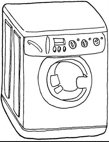 Dibujos de lavadoras para colorear - Fotos de lavadoras ...