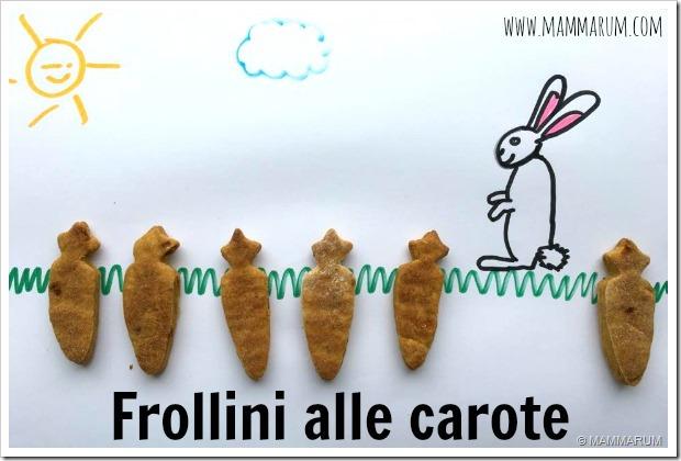 biscotti alle carote vegan