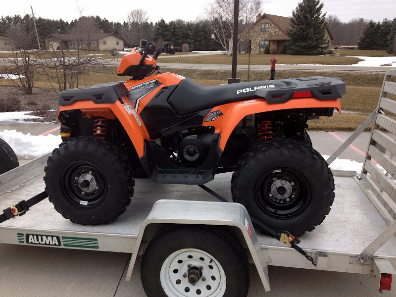 2012 Sportsman 500 Orange Madness build  5/2012