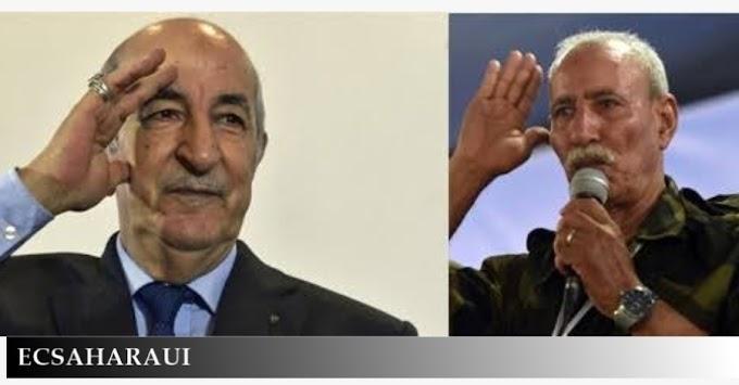 El presidente saharaui felicita a su homólogo de Argelia por el Día Nacional de la Independencia.