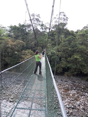 Ausflug zu den Hängebrücken