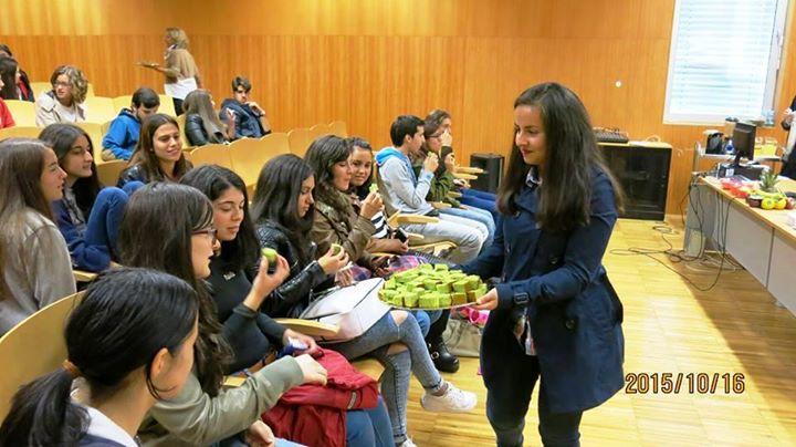 Centro Europe Direct incentiva jovens para alimentação saudável