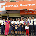 Visit to Bank of Baroda (XI-XII Commerce) 8-8-14