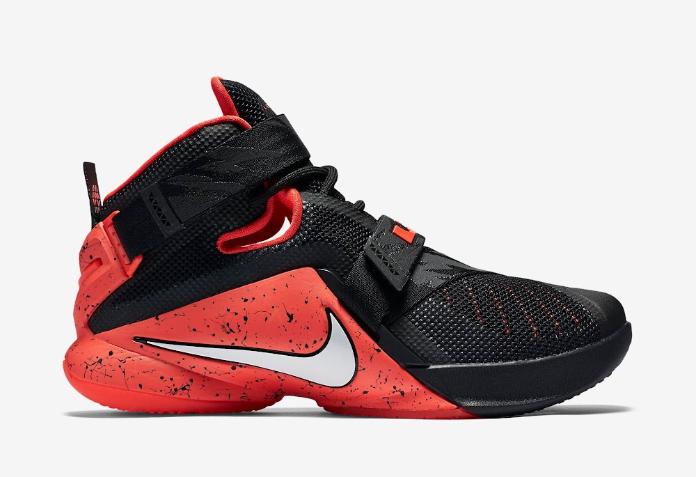 official photos 2fda9 88231 Nike Goes Premium for Black and Red LeBron Soldier 9 | NIKE LEBRON ...