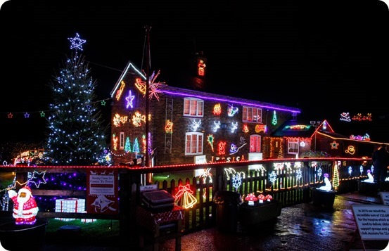Publicity photo - Weston Christmas Light Display 2018 (1)
