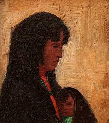 """Portrait of Mother & Child"""
