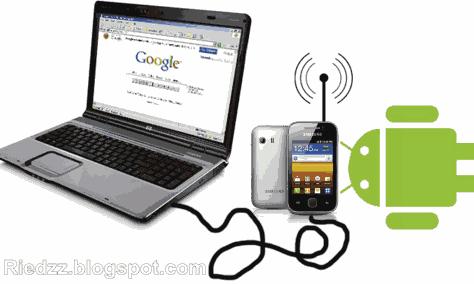 Cara Merubah Android Menjadi Modem Komputer/Laptop