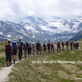 Wandertage Visp 23.-27.6.14