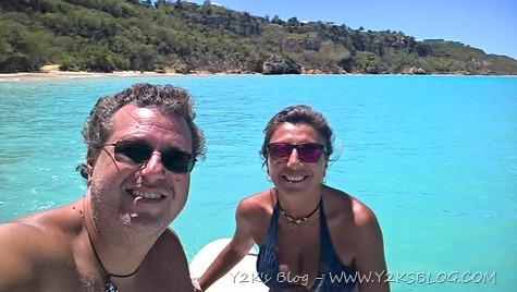 A spasso con il dinghy - Anguilla