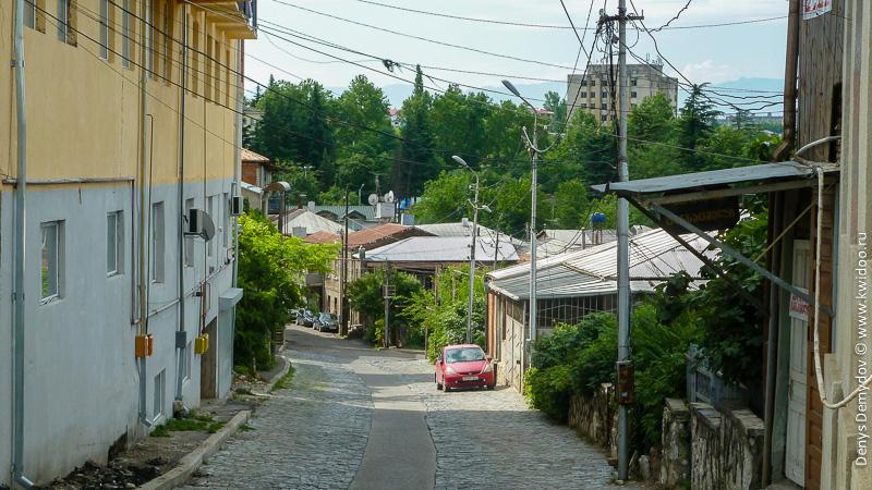 Узкие улочки Кутаиси
