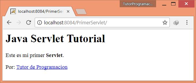 Ejecutar mi primer Servlet Java con Netbeans