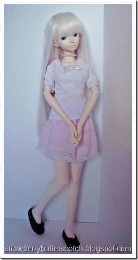 Pretty and Pink: From Dress to Cute Skirt and More: Cute doll skirt.