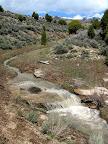 Small falls in Horse Creek