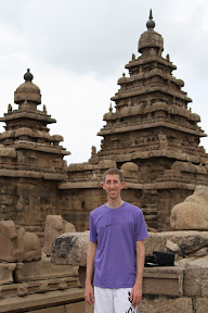 Me at the Shore Temple
