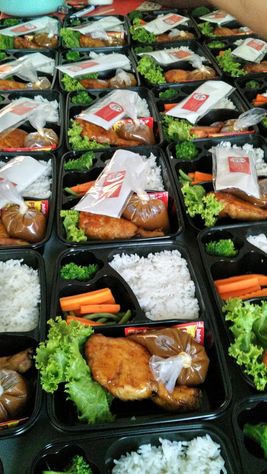 Paha Ayam Kodok Dengan Nasi Yusnita Kitchen