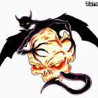 bat - tattoo designs