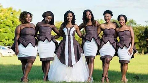 Tswana Traditional Wedding / Dresses And Wear