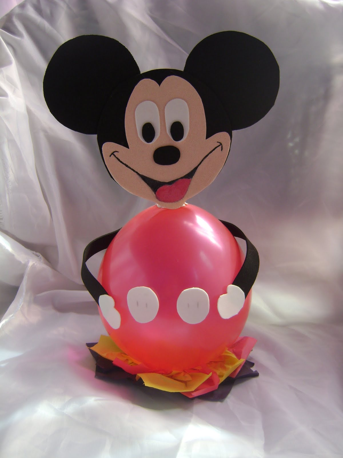 ms y ms manualidades Figuras con globos para una fiesta infantil