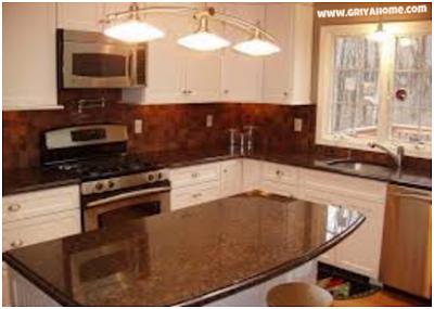 Desain kitchen set minimalis Ketiga