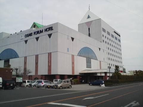 大垣フォーラムホテル外観  花水木