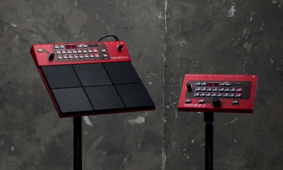 Nord Drum 3 family PRESS