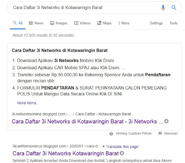 Cara Daftar 3i Networks di Kotawaringin Barat