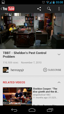 YouTube App im September 2012