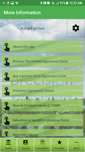 MFA Agronomy Guide - náhled