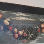 008-Mantegna -San Giorgio gallerie Accademia Venezia- particolare della ghirlanda con frutta.jpg