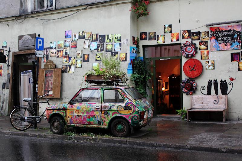 Una tienda diferente en Kazimierz
