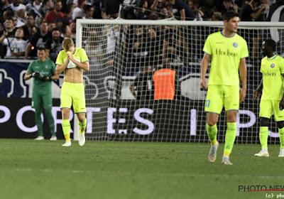 KAA Gent verliest in Bordeaux en gaat niet naar de poules van de Europa League