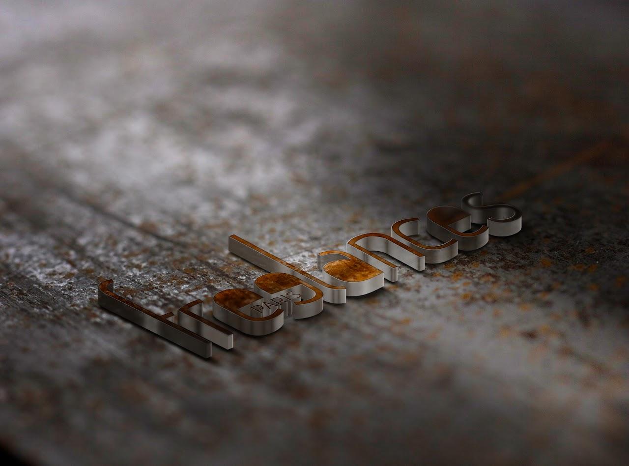 logo 3D sublime presentation photoshop custom graphic design few clicks best price visualsdotwork paris