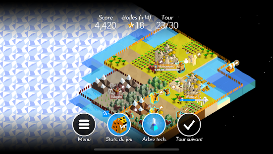 Battle of Polytopia - A Civilization Strategy Game Capture d'écran
