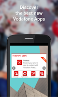 Screenshot of Vodafone Start