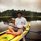 Kayak Fishing - 9-6-14