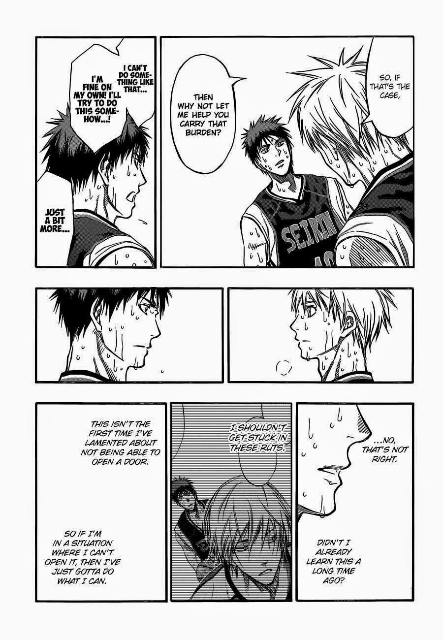 Kuroko no Basket Manga Chapter 262 - Image 17