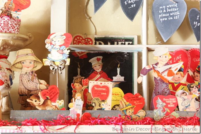 Valentine's Mantel Child's World Magazine