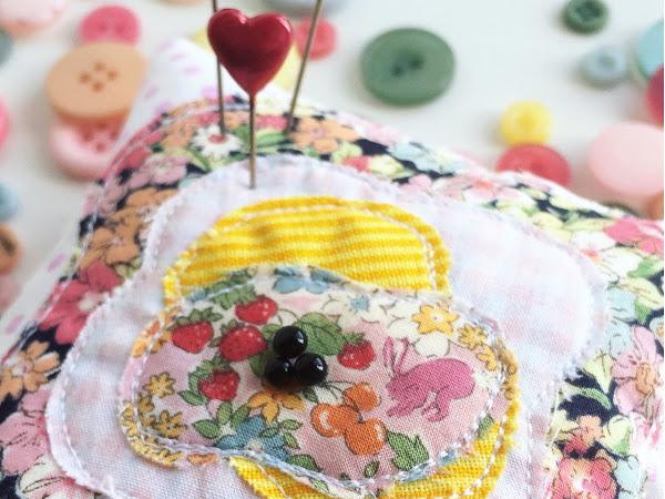 SEWING: Many, many pincushions