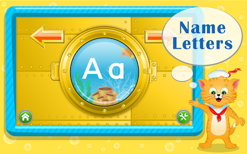 Learn ABC Letters with Captain Cat- screenshot thumbnail