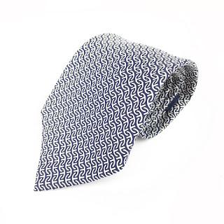 Hermès Dark Blue Tie