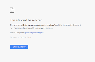 Chrome keeps telling me that site can\u0027t be reached? - Google Product