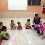 Baby Visit in Nursery (2014-15) at Witty World