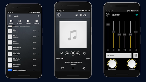 Music Player for Samsung Galaxy 3.1 1